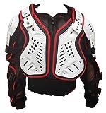 Giallo Armatura Moto Bambino XTRM Nuovi Pettorina Motocross Protezione di MX Cross Giacca off-Road Quad Pit Bike Sportivo Bambina Spina dorsali Protettori per Torace