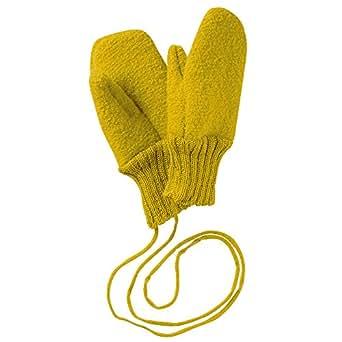 Disana Walk-Handschuhe Schurwolle kbT ((01) 5-12 Monate, Curry)