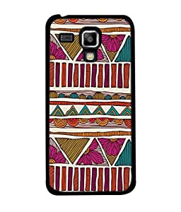 PrintVisa Designer Back Case Cover for Samsung Galaxy S Duos 2 S7582 :: Samsung Galaxy Trend Plus S7580 (Jaipur Rajasthan Tribal Azitec Mobiles Indian Traditional Wooden)