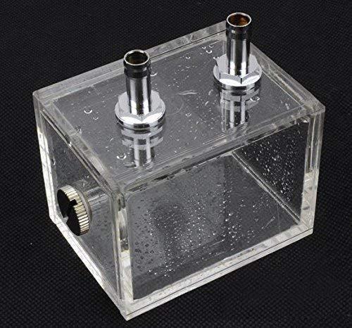 ZJchao 200ml Acryl Wasser Tank Kühler Wasserkühlung Kühler Pc CPU Wasserblock