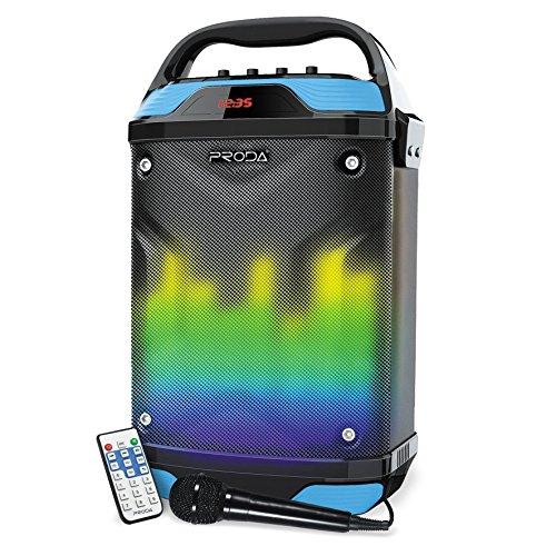 PRODA PR-68 enceinte bluetooth box sonore karaoke