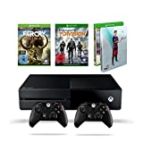Xbox One 500 GB Konsole (2015) + FIFA 16 - Deluxe Edition inkl. Steelbook + Far Cry Primal (100% Uncut) - Special Edition + Xbox One Wireless Controller (2015)
