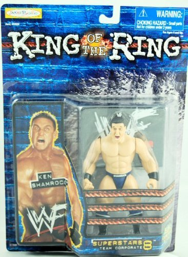WWF - King of the Ring - Superstars Team Corporate 8 - Ken Shamrock - MOC Ring Moc
