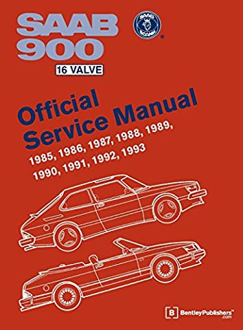 SAAB 900 16 Valve Official Service Manual: 1985-1993
