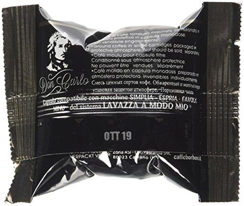 Caffè Borbone Capsule Don Carlo Miscela Nera - Confezione da 100 Capsule...