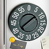 Jumbo-TimerEieruhr Küchentimer magnetisch Küchenuhr Kühlschrank