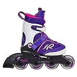 K2 Mädchen Inline Skates Marlee Pro - Lila-Weiß - L (35-40 EU; 3-7 UK; 4-8 US) - 30B0204.1.1.L