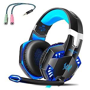 Professionelle Gaming Kopfhörer mit Mikrofon