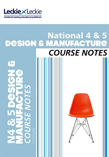 National 4/5 Design and Manufacture Course Notes: For Curriculum for Excellence SQA Exams (Course Notes for SQA Exams)