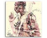 Paul Sinus Art Kobe Bryant la 60x 60DE Sa Décoration Murale Toile, 90x 50x 3cm Multicolore