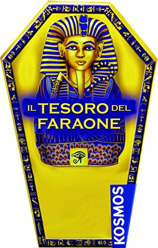 Giochi Uniti GU539 - Il Tesoro del Faraone, Kit scientifico