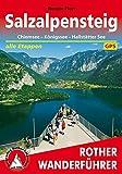 SalzAlpenSteig: Chiemsee - Königssee - Hallstätter See. Alle Etappen. Mit GPS-Tracks (Rother Wanderführer) - Renate Florl