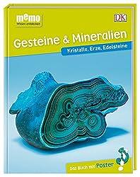 memo Wissen entdecken. Gesteine & Mineralien: Kristalle, Erze, Edelsteine. Das Buch mit Poster!