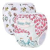 Storeofbaby Pannolini da bagno per bambini riutilizzabili Pantaloni corti tronchi Unisex Fit 0-3 anni