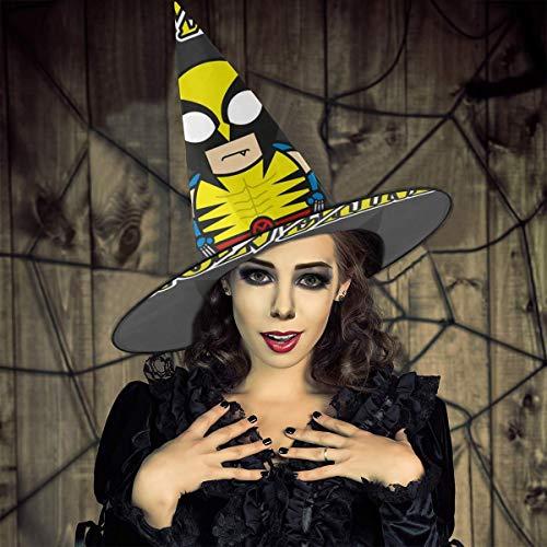 AISFGBJ WOL-Verine Cartoon Figur Hexenhut Halloween Halloween Kostüm für Urlaub Halloween Weihnachten Karneval (Cartoon Figur Halloween Kostüm)