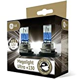 GE Megalight Ultra H11 +130% Light Car Headlight Bulbs (Twin) 53110XNU
