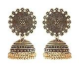 Ganapathy gems Gold Metal Jhumki Earring...