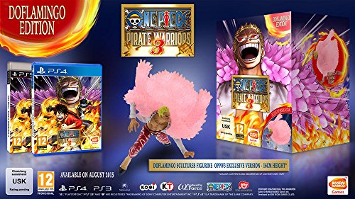 One Piece Pirate Warriors 3 - Doflamingo Edition (exkl. bei Amazon.de) - [PlayStation ()