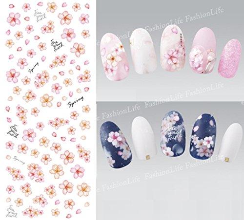 Autocollants de transfert à eau pour la décoration des ongles Fleur Nail Sticker Tattoo - FashionLife