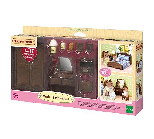 Sylvanian Families Traumwiesen 5039 - Eltern Schlafzimmer, Puppenzubehör
