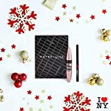 Maybelline New-York - Coffret Maquillage Yeux : Mascara Cils Sensational 01 Noir 9,4 ml + Liner Hyper Precise Allday 700 Noir 1 ml