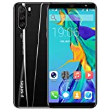 Accreate 5.8 inch Drop Screen 8MP Front Camera P33 Pro Smartphone 4G+64G 4000mAh Battery Ice Brick Black European regulations