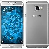 Funda de silicona para Samsung Galaxy C7 - Slimcase transparente - Cover PhoneNatic Cubierta + protector de pantalla