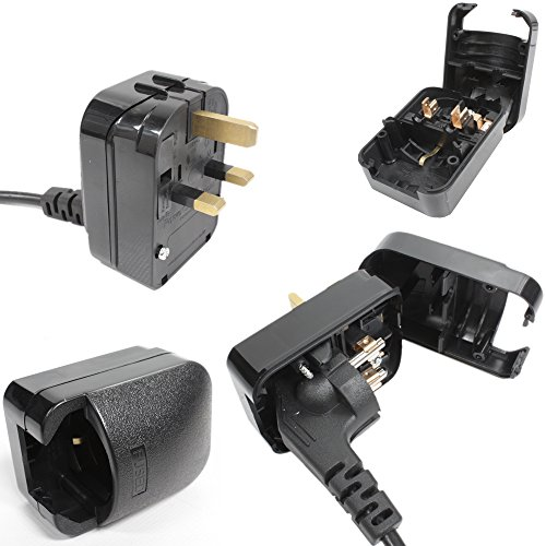 Eagle 13A 2-polig Dessinieren Stecker auf UK 3-polig Adapter-stecker - Eagle Electronics