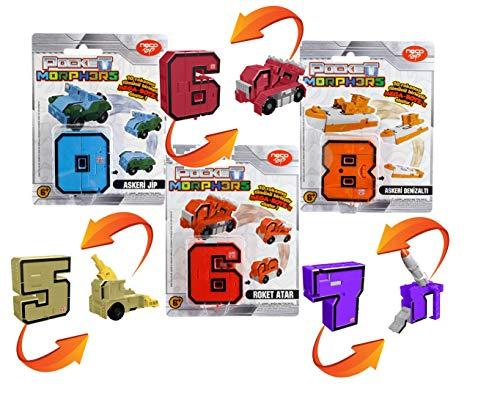 Giochi Preziosi Statuetta Morphos Transformers, 6888 assortimento: Numeros/Colori assortiti