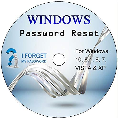 Disco di reimpostazione password di Windows. Rimozione della password di Windows dimenticata su Windows 10, 8, 7, Vista, XP