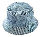 YiyiLai Kariert Muster Sonnenhut Fischermütze Outdoor Hüte UV-Schutz für Kinder Grün 44