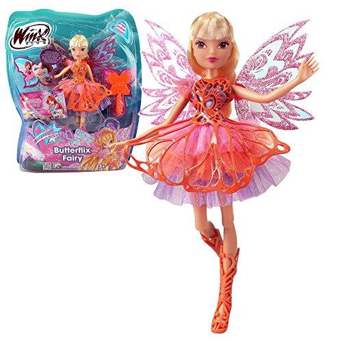 Winx Club - Butterflix Fairy - Hada Stella Muñeca 28cm con...