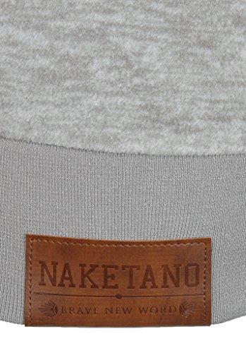 Naketano Redefreiheit IV W sweat zippé à capuche Grey Melange
