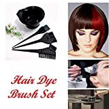Wizme Hair Dye Kit For Coloring Hairs Hair Color Dye Bowl Brush Comb
