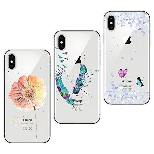Funda iPhone X / iphone 10, Yokata [3 Packs] Transparente...