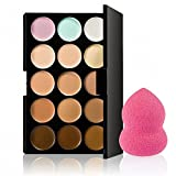 Best Contouring Kits - Glamocracy™ 15 Colors Contour Concealer Palette+ 1 Flawless Review