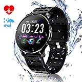 Best Ios Smartwatches - CanMixs CM10 Smart Watch, IP67 Waterproof Fitness Watch Review