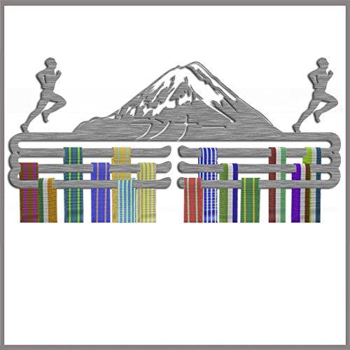 Medaillen-Aufhänger, Läufer, Edelstahl, dreifache Ebenen - Aufhänger Race-medaille