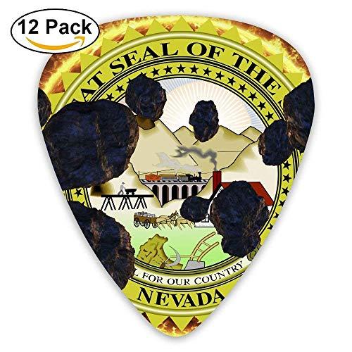 Sun Galaxy Meteorite Guitar Pick 12pack ()
