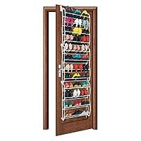 Generic 36 Pair Over Door Hanging Shoe Rack Shelf Organiser Hook Holder Storage Stand