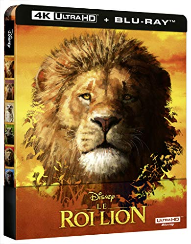 Le Roi Lion [4K Ultra HD + Blu-Ray-Édition boîtier SteelBook]