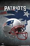 New England Patriots - Helmet 16 Poster Drucken (55,88 x 86,36 cm)