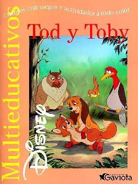 Tod y Toby: cuentos con juegos y actividades a todo color