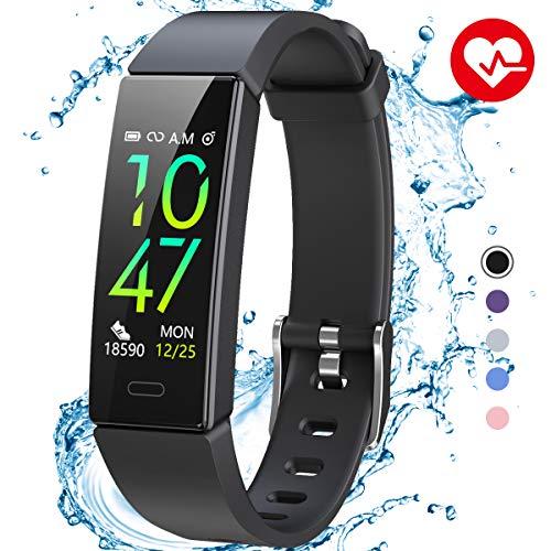 Winisok Fitness Armband mit Blutdruckmessung Pulsmesser, Fitness