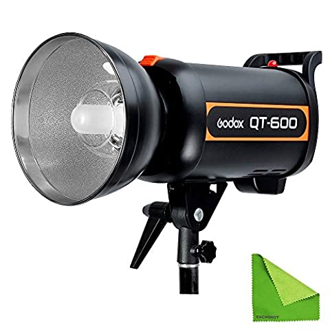 Godox QT-600 600W Fast Duration Flash Lighting Lamp Studio Strobe Head 1/5000s AC200-240V/50Hz With EACHSHOT Cleaning