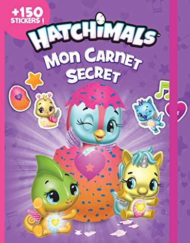 Mon carnet secret Hatchimals: + 150 stickers!