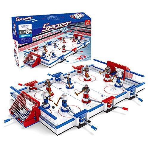 zzle Blocks Eishockey Brettspiele Montage Spielzeug Kunststoff Kleine Partikel Bausteine   Spielzeug Geburtstagsgeschenke ()