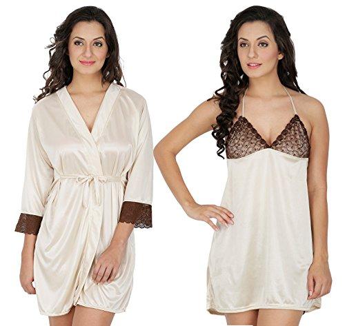 Klamotten Satin Babydoll Women Nightwear Pack Of Two 209CRM-208CRM