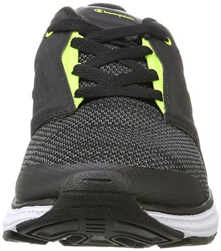 Champion Low Cut Shoe Stark, Chaussures de Running Compétition Homme Noir (Nbk/syf)