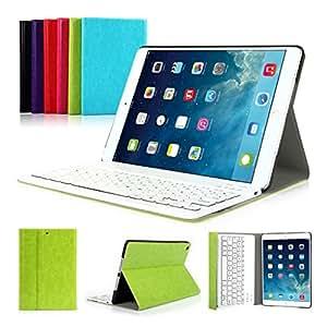 iPad Air 1 iPad 2017 9.7'' CoastaCloud QWERTY Italiano Layout Ultrathin Custodia con Supporto e Tastiera Bluetooth staccabile per Apple iPad Air 1(A1474 A1475 A1476)iPad 2017 (A1822,A1823)Verde